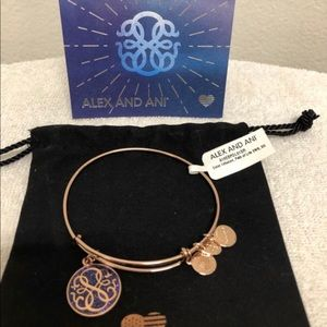 💛Alex & Ani Rose Gold Bracelet